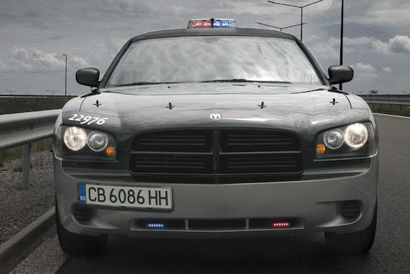 Лимузина под наем полицейска